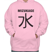 Mizukage Symbol On Front Naruto Unisex Pullover Hoodie Adult