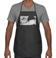 Mob Loves Milk MP100 Two Pocket Apron