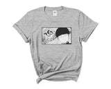 Mob Loves Milk Women T-shirt / Tee