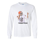 #MONEYMAN Johnny Manziel money man Money man #2 | Long Sleeve T-shirt for Men PA
