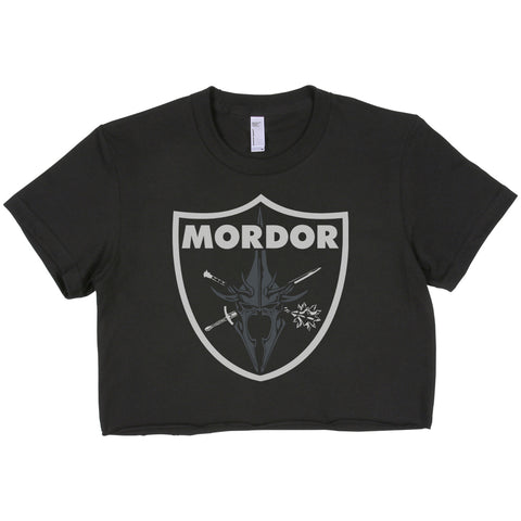Mordor Bandage Crop Top, women crop Tee