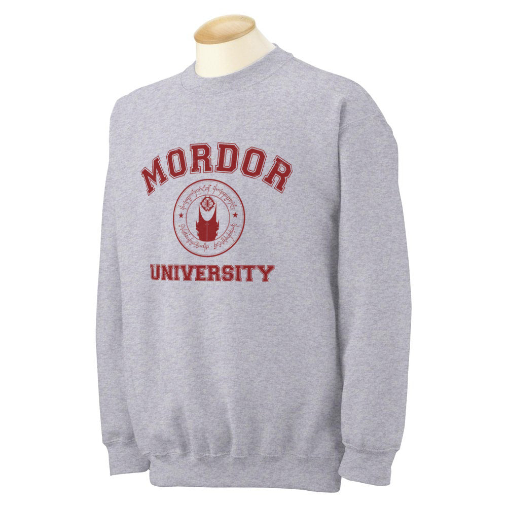 Mordor University Lord Of The Rings Unisex Crewneck Sweatshirt - Meh. Geek