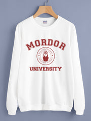 Mordor University Lord Of The Rings Unisex Crewneck Sweatshirt Adult