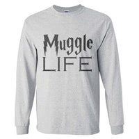 Muggles Life Harry Potter Long Sleeve T-shirt for Men - Meh. Geek - 5