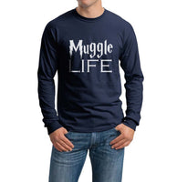 Muggles Life Harry Potter Long Sleeve T-shirt for Men - Meh. Geek - 2