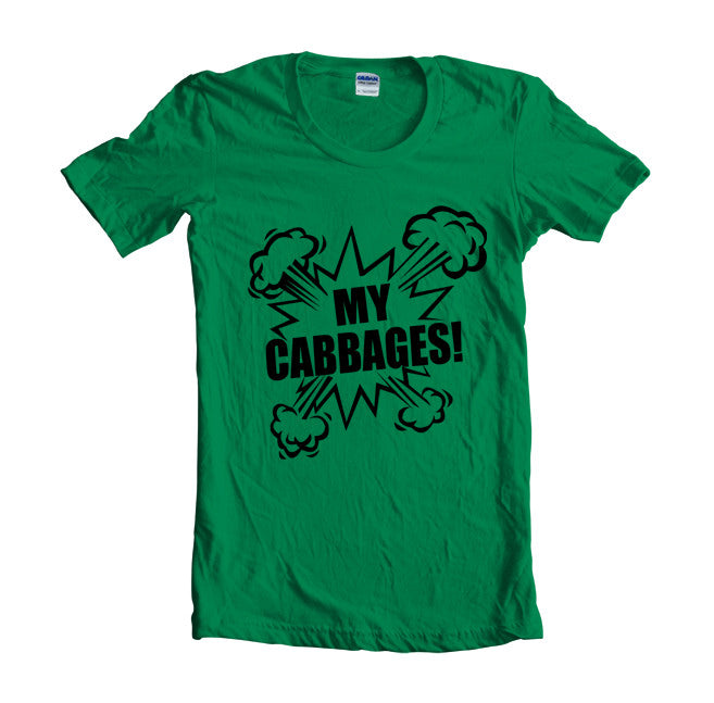My Cabbages Black Ink Avatar Women T-shirt - Meh. Geek