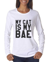 My Cat Is My Bae Long sleeve T-shirt for Women