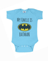 My Cousin is Batman Rabbit Skins Infant Baby Rib Lap Shoulder Creeper Onesies - Meh. Geek - 3