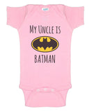 My Cousin is Batman Rabbit Skins Infant Baby Rib Lap Shoulder Creeper Onesies - Meh. Geek - 4