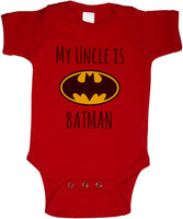 My Cousin is Batman Rabbit Skins Infant Baby Rib Lap Shoulder Creeper Onesies - Meh. Geek - 6
