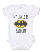 My Cousin is Batman Rabbit Skins Infant Baby Rib Lap Shoulder Creeper Onesies - Meh. Geek - 2
