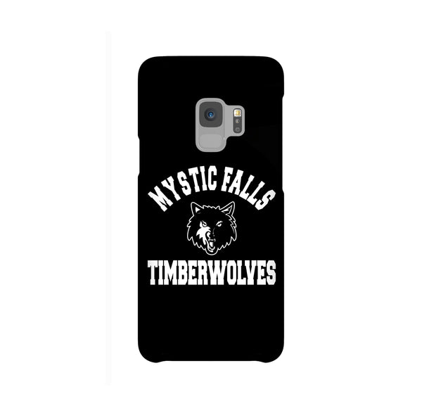 Mystic Falls Timberwolves Black Tvd Samsung Galaxy Snap or Tough Case