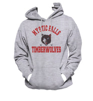 LOCKWOOD 1 Mystic Falls Timberwolves The Vampire Diaries Unisex Pullover Hoodie Light Steel