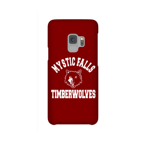 Mystic Falls Timberwolves Maroon Tvd Samsung Galaxy Snap or Tough Case