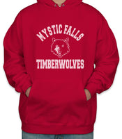 Mystic Falls Timberwolves The Vampire Diaries Unisex Pullover Hoodie