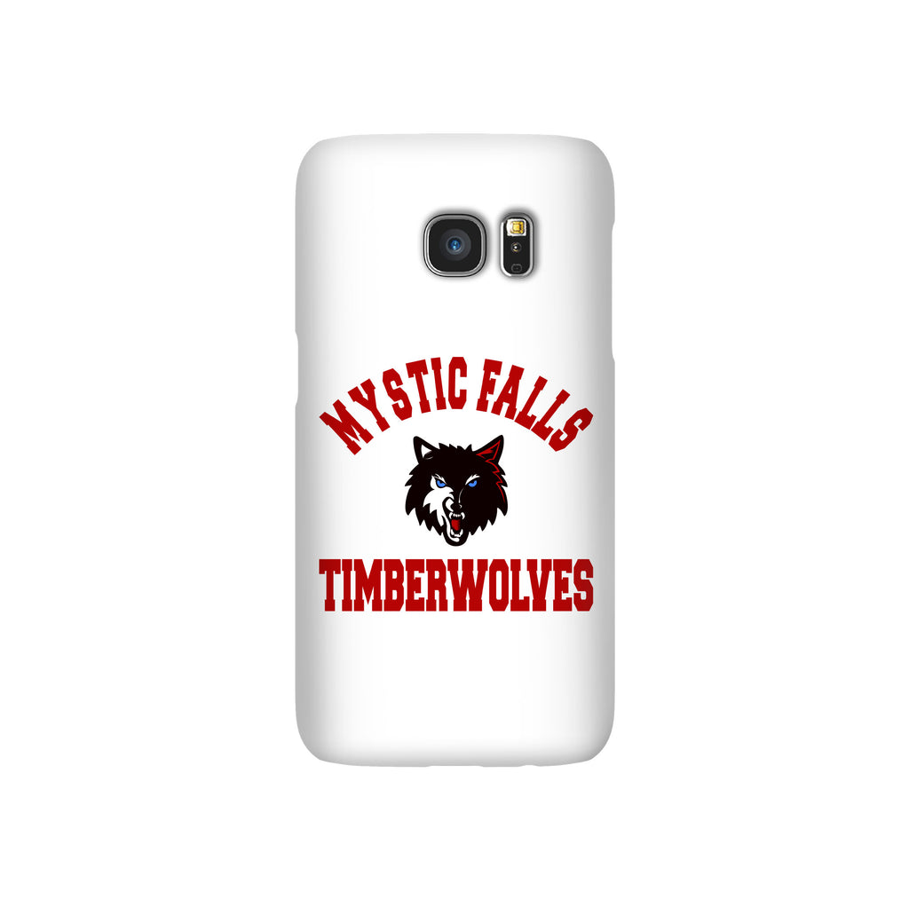 Mystic Falls Timberwolves White Tvd Samsung Galaxy Snap or Tough Case