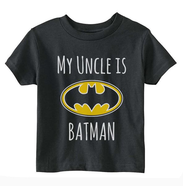 My Uncle Is Batman Toddler T-shirt tee