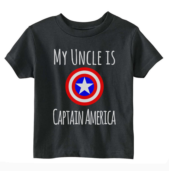 My Uncle Is Captain America Toddler T-shirt tee