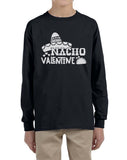 Nacho Valentine Kid / Youth Long Sleeves T-shirt tee