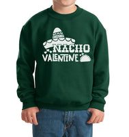 Nacho Valentine Kid / Youth Crewneck Sweatshirt