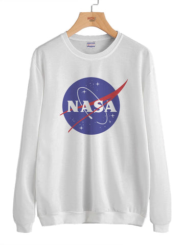 Nasa Meatball Unisex Crewneck Sweatshirt Adult