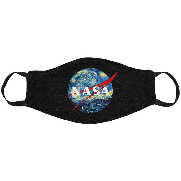 Nasa Van Gogh Face Mask