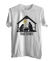 Christmas Nativity True Story T-shirt Men / Men Tee