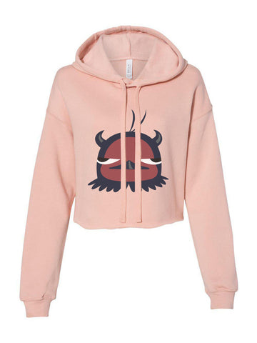 Nero Anti Mage Bird Black Clover Cropped Hoodie
