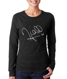 Niall Horan Sign Women Long sleeve T-shirt Tee