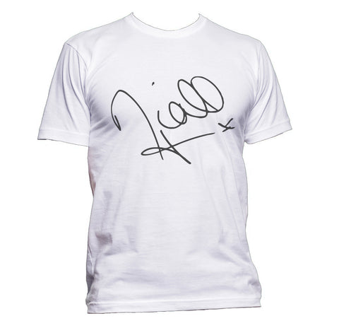 Niall Horan Sign Men T-shirt tee PA