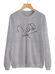 Niall Horan Sign Unisex Crewneck Sweatshirt Adult