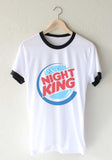 Night King Burger Ringer Unisex T-shirt / tee