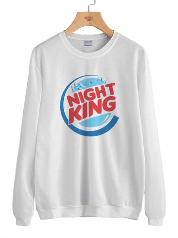 Night King Burger Game of Thrones Unisex Crewneck Sweatshirt Adult