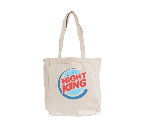 Night King Burger Game of thrones Tote bag BE008 12 OZ