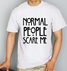 Normal People Scare Me Men T-shirt