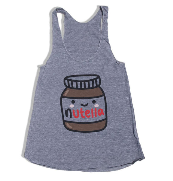 Nutella Triblend Racerback Women Tank Top