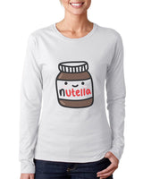 Nutella Women Long sleeve T-shirt Tee