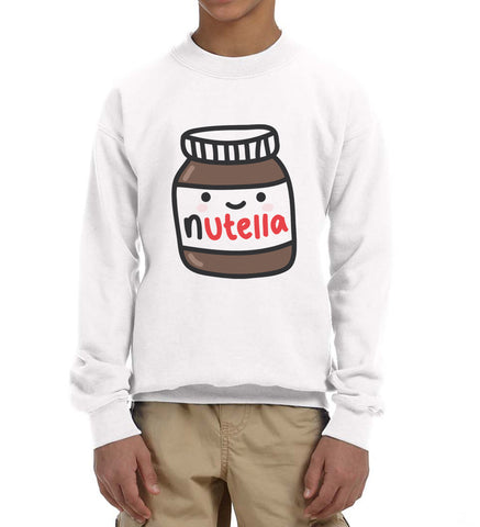 Nutella Kid / Youth Crewneck Sweatshirt