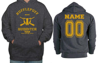 Original Customize - OLD Hufflepuff BEATER Quidditch Team Unisex Pullover Hoodie Dark Heather