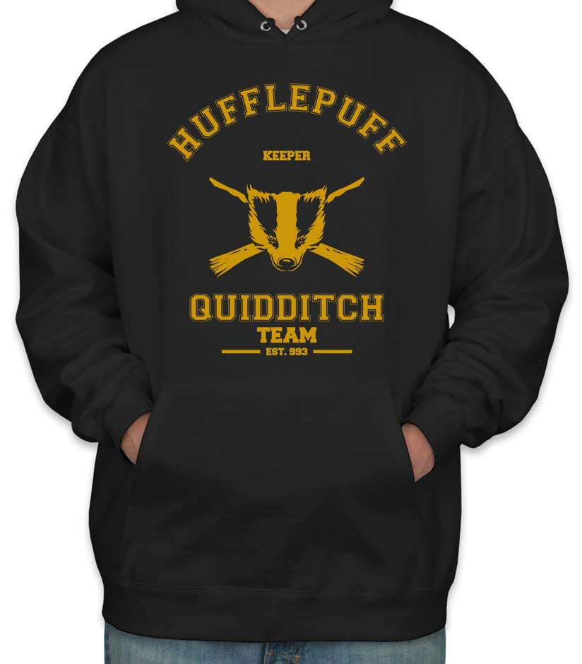 Hufflepuff KEEPER Quidditch Team Unisex Pullover Hoodie PA old