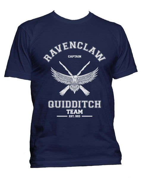 Ravenclaw CAPTAIN White Quidditch Team Men T-shirt PA old