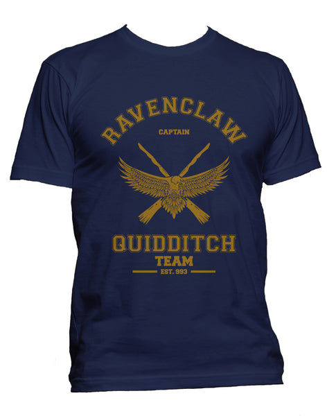 Ravenclaw CAPTAIN Yellow Quidditch Team Men T-shirt PA old
