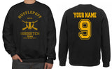 Customize - OLD Hufflepuff BEATER Quidditch Team Unisex Crewneck Sweatshirt Adult