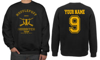 Original Customize - OLD Hufflepuff KEEPER Quidditch Team Unisex Crewneck Sweatshirt Adult