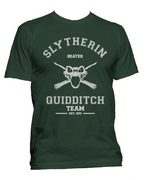 Slytherin BEATER Quidditch Team Men T-shirt PA old