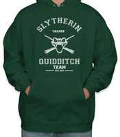 Original Slytherin CHASER Quidditch Team Unisex Pullover Hoodie PA old