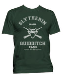 Slytherin CHASER Quidditch Team Men T-shirt PA old