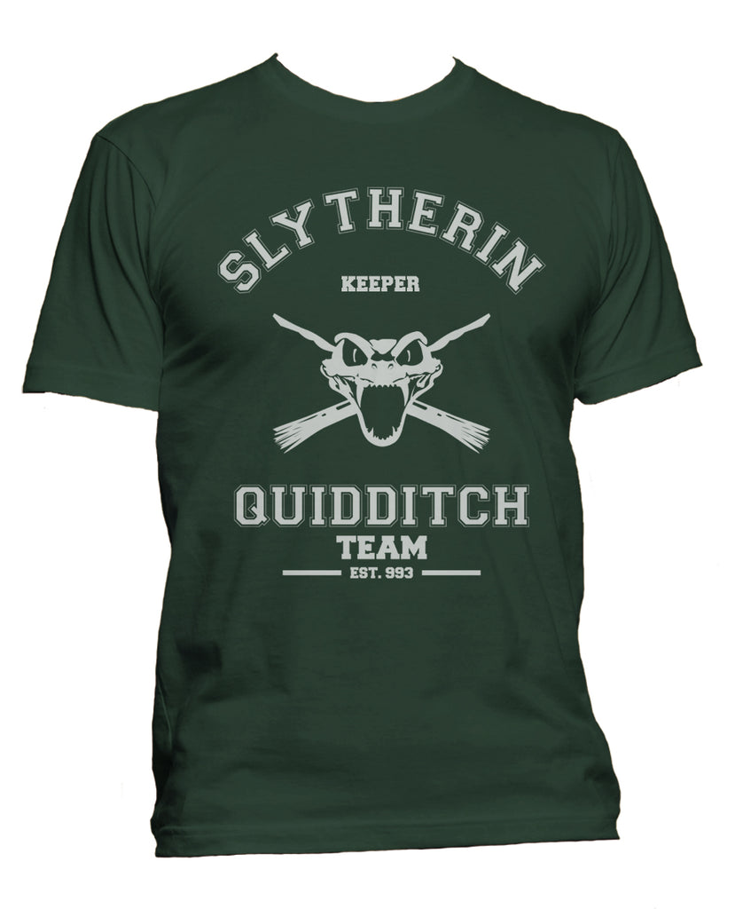 Slytherin KEEPER Quidditch Team Men T-shirt PA old
