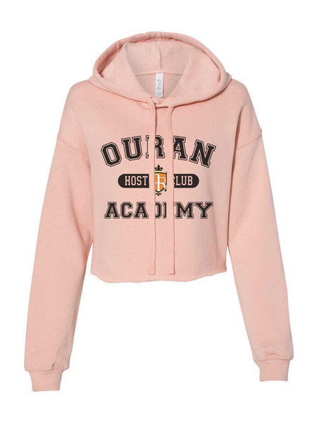 Ouran Host Club Academy Cropped Hoodie