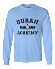 Ouran Host Club Academy Manga Anime Long Sleeve T-shirt for Men - Meh. Geek